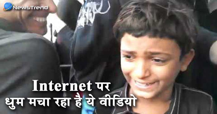कड़वे रिश्तों में मिठास घोलती है इस बच्चे की सुरीली आवाज : देखें वीडियो