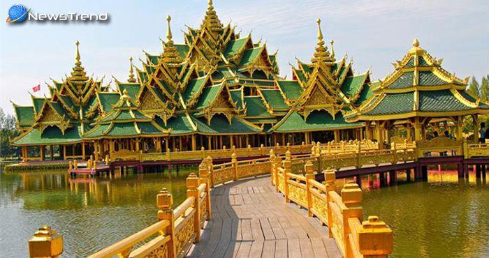यह शानदार मंदिर बियर की खाली बोतलों से बना है, beer bottle temple.