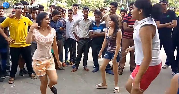 ...जब मस्त होकर सड़क पर ही नाचने लगीं 'दिल्ली गर्ल्स' – देखें वीडियो