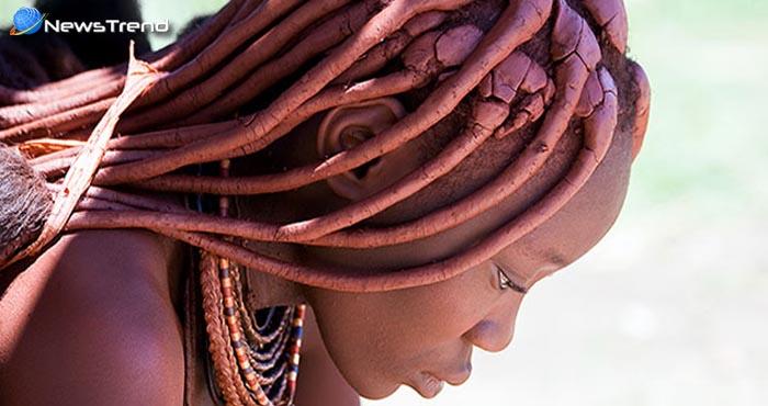 हिंबा ट्राइब : पानी को बिना हाथ लगाए भी ये महिला दिखती है सबसे खूबसूरत.