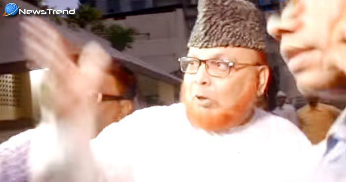पश्चिम बंगाल में इमाम की हरकतों से नाराज लोगों से उसे जमकर लताड़ा ….देखें वीडियो!
