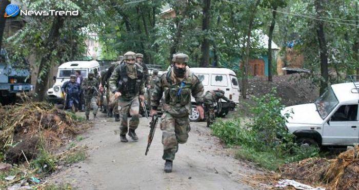 सीमा पर आतंकियों और सेना के बीच मुठभेड़, 4 आतंकी ढेर और 4 जवान शहीद!
