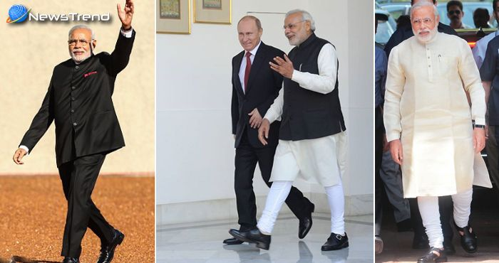 पीएम नरेन्द्र मोदी ने अपने स्टाइल से दुनिया में मचाया धमाल, देखें कुछ जानदार 'Look'