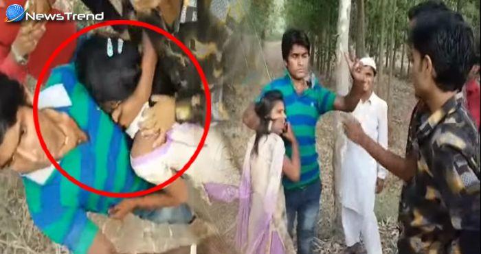 यूपी के रामपुर में हुई रावण वाली हरकत, 2 लड़कियों से दिन-दहाड़े हुई छेड़खानी – वीडियो