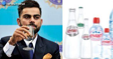 भारतीय क्रिकेट कप्तान कोहली पीते हैं इस देश का पानी, कीमत जान उड़ जायेंगे आपके होश!