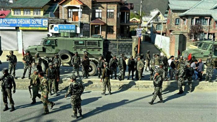 Crpf camp attacked by terrorist