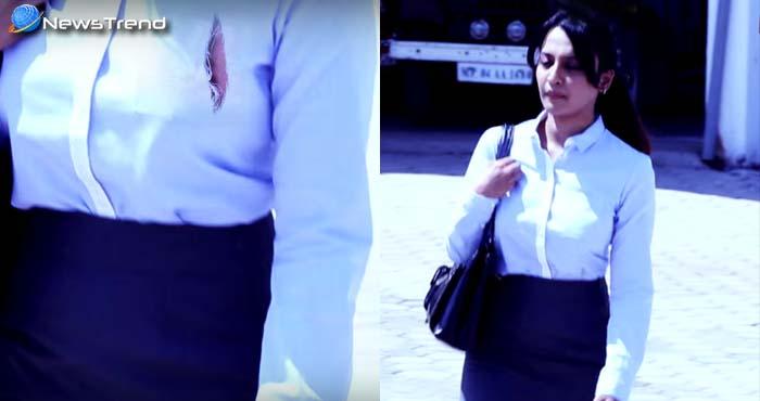 रास्ते में चलते चलते अचानक इस लड़की के फटने लगे कपड़े, एक बार जरूर देखें यह वीडियो!