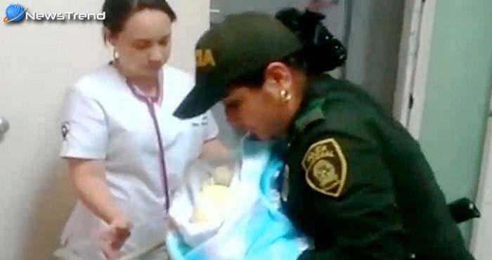 ...जब लेडी पुलिस इंस्पेक्टर ने स्तनपान कराकर अनाथ बच्चे की बचाई जान – देखें वीडियो!