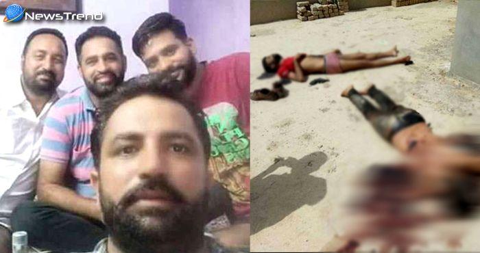इन गैंगस्टरों ने पुलिस से बचने के लिए मार ली खुद को गोली, जानें क्या है मामला!