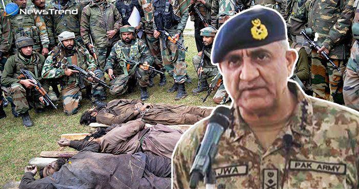 सेना ने 3 दिन में मार गिराए 14 आतंकी, तो घबराये PAK सेना प्रमुख को करना पड़ा LoC का दौरा!