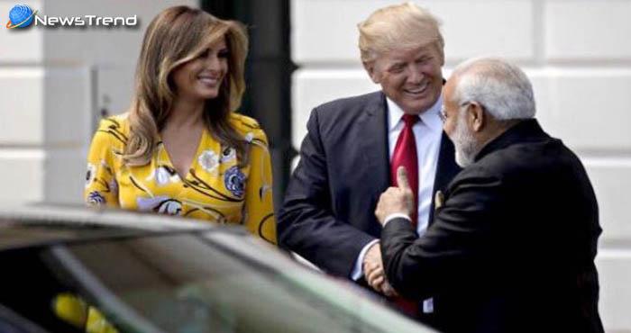 PM मोदी ने ट्रम्प को परिवार सहित दिया भारत आने का न्यौता, ट्रम्प ने कहा महान हैं भारतीय पीएम!