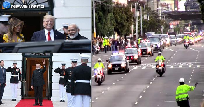 ...जब व्हाइट हाउस जाते समय अमेरिका की सड़कों से गुजरा पीएम मोदी का काफिला! देखें वीडियो