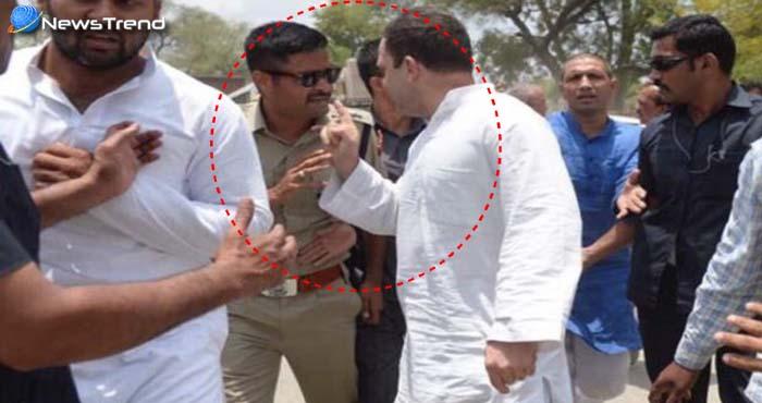 राहुल गांधी का नया हाईबोल्टेज ड्रामा, फिर पुलिस से की बदतमीजी, कैमरे में हुए कैद: देखें वीडियो