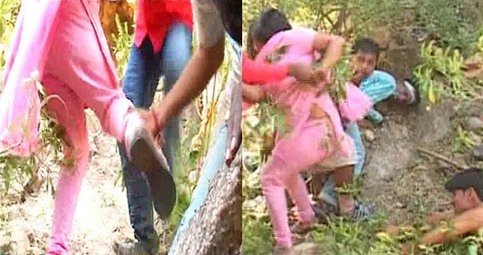 वायरल हो रहा है ये वीडियो, जिसमें इज्जत बचाने के लिए लड़की भागती है, लेकिन…