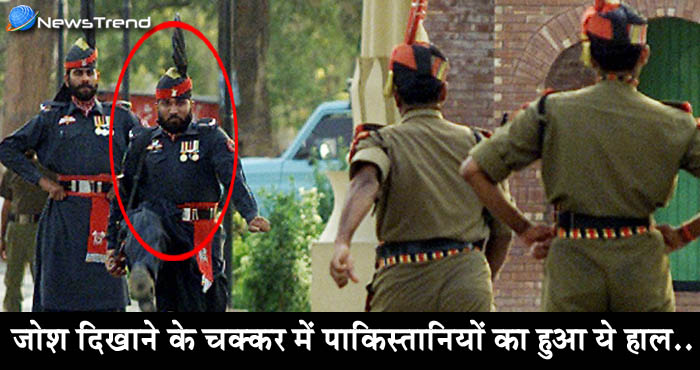 पाक का बुरा दिन – मारे गए 4 सैनिक, एक भारतीय जवान के पैरों में औंधे मुंह गिरा – देखें वीडियो