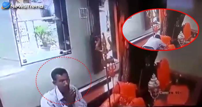 मंदिर में घुसते ही चोर ने निकाली सबसे पहले मूर्ति की आँखें, फिर दी चोरी की घटना को अंजाम!