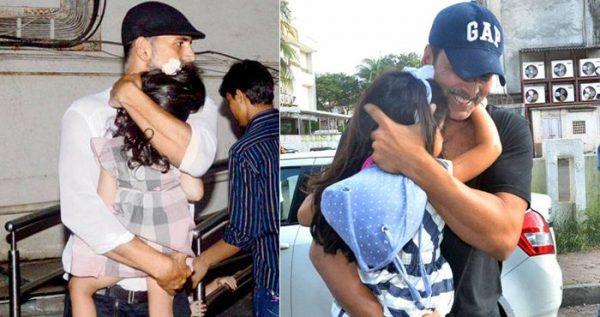 आखिर में खुल गया ये राज की क्यूँ अक्षय अपनी बेटी का चेहरा छुपाते है!