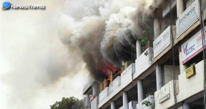 चंढीगड के पंजाब फाइनेंशियल बिल्डिंग में लगी आग ऐसी भीषण आग जिसको देखकर काप जाएंगी आपकी रुह…