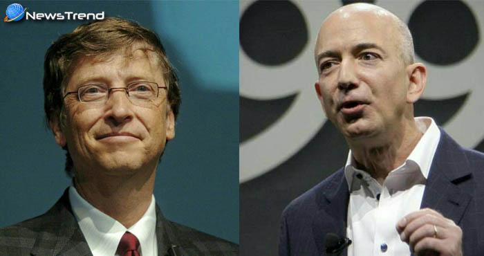 बिल गेट्स को मात देकर जेफ बेजोस बने दुनिया के सबसे अमीर आदमी जानिए कौन है जेफ बेजोज...