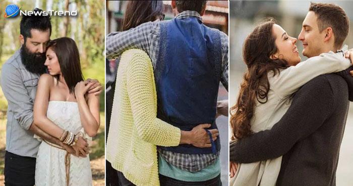 आप का पार्टनर से गले मिलने का तरीका बताता है आपके रिश्ते के बारे में बहुत कुछ, जानिये !
