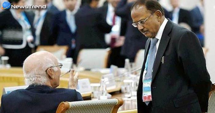 पाकिस्तान बिना कश्मीर के भारत से नहीं करेगा कोई बातचीत: सरताज अजीज!