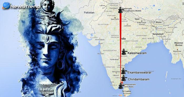 ये हैं दक्षिण भारत के 5 चमत्कारी शिव मंदिर, जो पड़ते हैं सीधी लाइन में एक साथ!