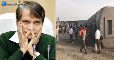 रेल मंत्री सुरेश प्रभु कैफियत एक्सप्रेस हादसे से दुखी, ट्वीट करके कहा ये.....