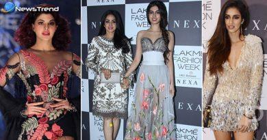 Lakme Fashion Week: श्री देवी की बेटी ख़ुशी कपूर पर टिकी सबकी निगाहें, देखें तश्वीरें