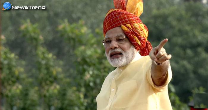 स्वतंत्रता दिवस समारोह में पीएम मोदी ने कहा गोली से नहीं गले लगाने से सुलझेगी कश्मीर की समस्या