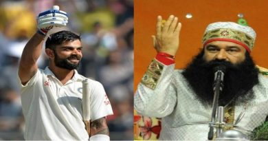 Virat kohli is the disciple of ram Rahim