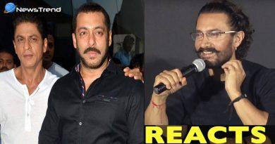 शाहरुख़ और सलमान के 'फ्लॉप' होने पर आमिर ने कुछ इस तरह ली चुटकी, कहा...