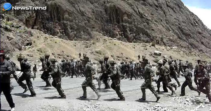 भारतीय और चीनी सैनिकों के बीच हुई हाथापाई, जमकर चले लात-घुसे – देखें वीडियो