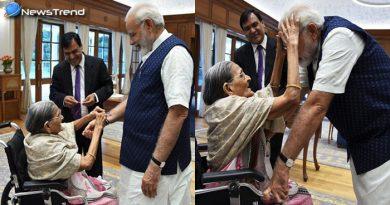 रक्षाबंधन पर इस 103 साल की महिला ने पीएम मोदी को भाई बनाकर बाँधी राखी, जानिए कौन है ये महिला