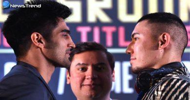 विजेंदर ने चीनी मुक्केबाज को दी चुनौती, कहा 45 सेकंड में कर दूंगा खेल खत्म चाइनीज माल ज्यादा नहीं टिकता..!