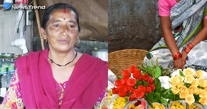 एक ऐसा मुख्यमंत्री जिसकी बहन सड़क किनारें फूल बेचकर कर रही हैं गुजारा