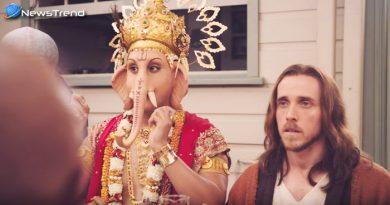 मांस के विज्ञापन में दिखाये गए भगवान गणेश, देखकर खुन खौल जाएगा – देखें वीडियो