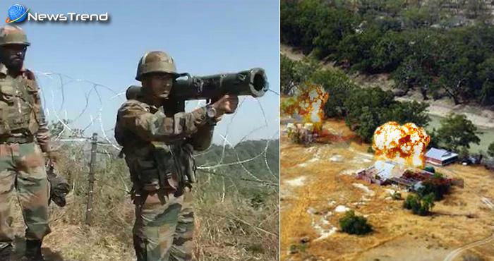बड़ी ख़बर : पीएम मोदी के दौरे से पहले भारतीय सेना ने बार्डर पर उड़ाया आतंकी कैंप