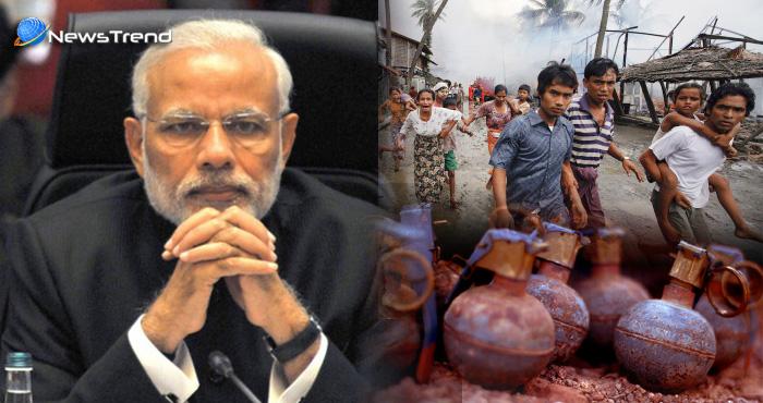 रोहिंग्या मुस्लमानों पर मोदी सरकार का बड़ा फैसला, घुसपैठ रोकने के लिए इस्तेमाल होगा ये 'बम'