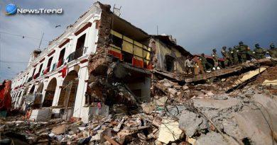 भूकंप का कहर, मेक्सिको हुआ बर्बाद !