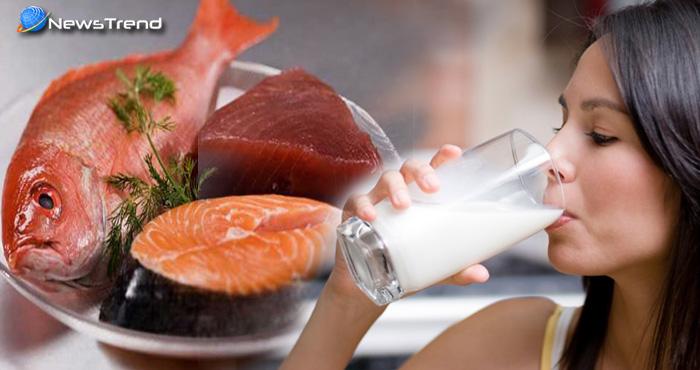 मछली खाने के बाद दूध पीना क्या हेल्दी है