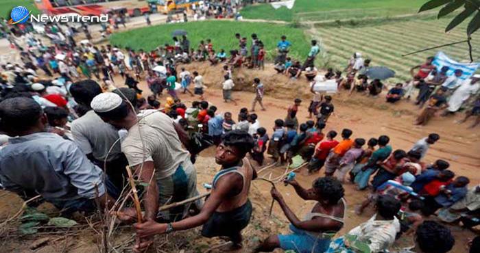 म्यांमार में हिन्दुओं के साथ हुई बर्बरता सामने, हिंसा प्रभावित राखिन में मिली 28 हिन्दुओं की सामूहिक कब्र