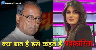 दिग्विजय सिंह को न्यूज़ एंकर ने जड़ा थप्पड़, पीएम मोदी पर किया बेहद था 'गंदा कमेंट'