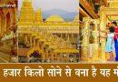 धरती पर स्वर्ग है… श्री शक्ति अम्मा के तप से बना, 15 हजार किलो सोने का ये मंदिर