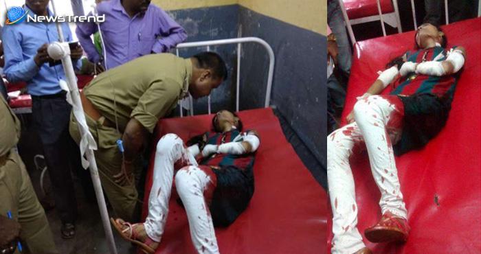Photo of बनारस में बवाल : वायरल हो रहा खून से लथपथ लड़की का ये फोटो, लेकिन इसका सच आपके होश उड़ा देगा?