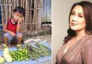 सब्जी बेचते क्यूट बच्चे की तस्वीर हुई वायरल, मदद के लिए आगे आई मशहूर एक्ट्रेस