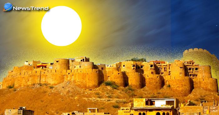 एक ऐसा अद्भुत क़िला जो सूरज की रौशनी पड़ते ही बन जाता है 'सोने का महल', जानिये रहस्य