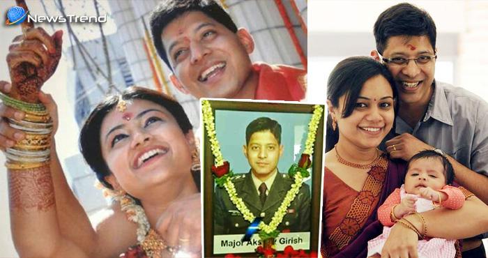 शहीद की पत्नी के इमोशनल FB पोस्ट पर उमड़ा भावनाओं का सैलाब…. नही धुली उनकी वर्दी अब तक