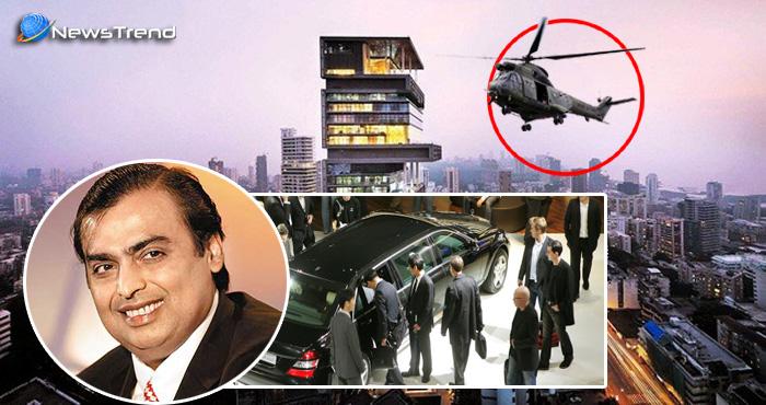 Photo of अंबानी के कार की चाभी खोई, कम्पनी का मालिक खुद हेलिकॉप्टर से पहुँचा चाभी लेकर