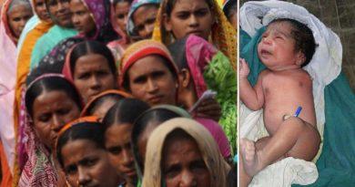 नवरात्रि में जन्मा एक हाथ वाला अनोखा बच्चा, पैदा होते ही की ऐसी हरकत... देखने उमड़ी भीड़