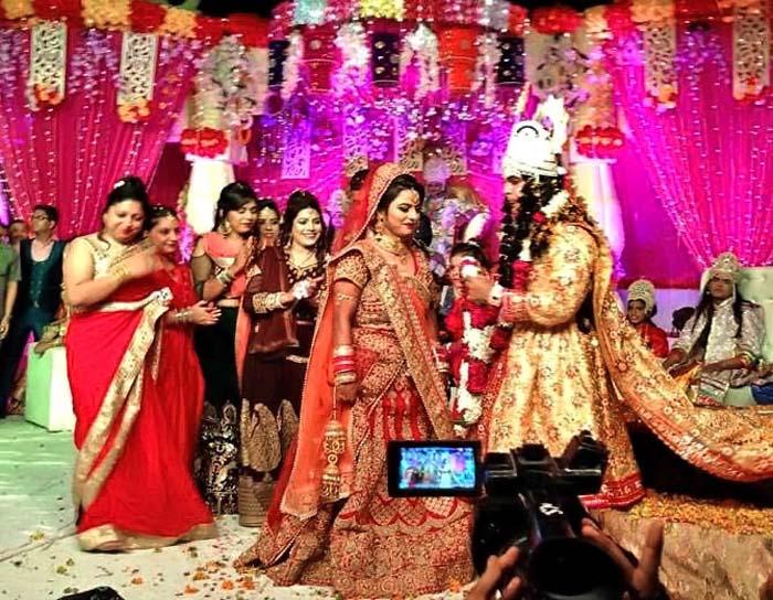 नही देखा होगा आपने रामसीता का ऐसा मिलन, राम-सीता के किरदार में कलाकारों ने की रियल शादी